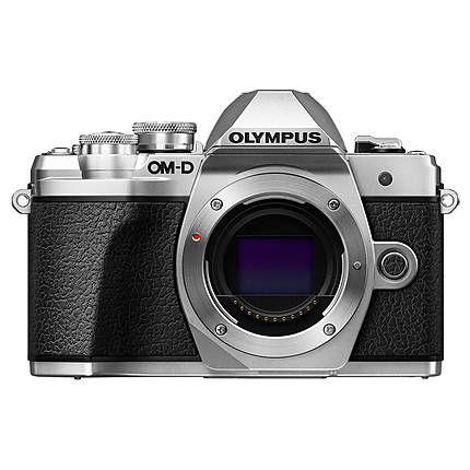 Olympus OM-D E-M10 Mark III Mirrorless Micro 4/3 Digital Camera Body Silver