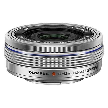 Olympus M.Zuiko ED 14-42mm f/3.5-5.6 EZ Electronic Zoom Lens - Silver