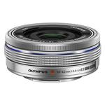 Olympus M.Zuiko ED 14-42mm f/3.5-5.6 EZ Electronic Zoom Lens - Silver