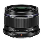 Olympus M.Zuiko 25mm f/1.8 Standard Lens for Micro 4/3 System - Black