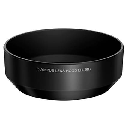 Olympus LH-49B Hood for M. Zuiko Digital 25mm f/1.8 Lens - Black