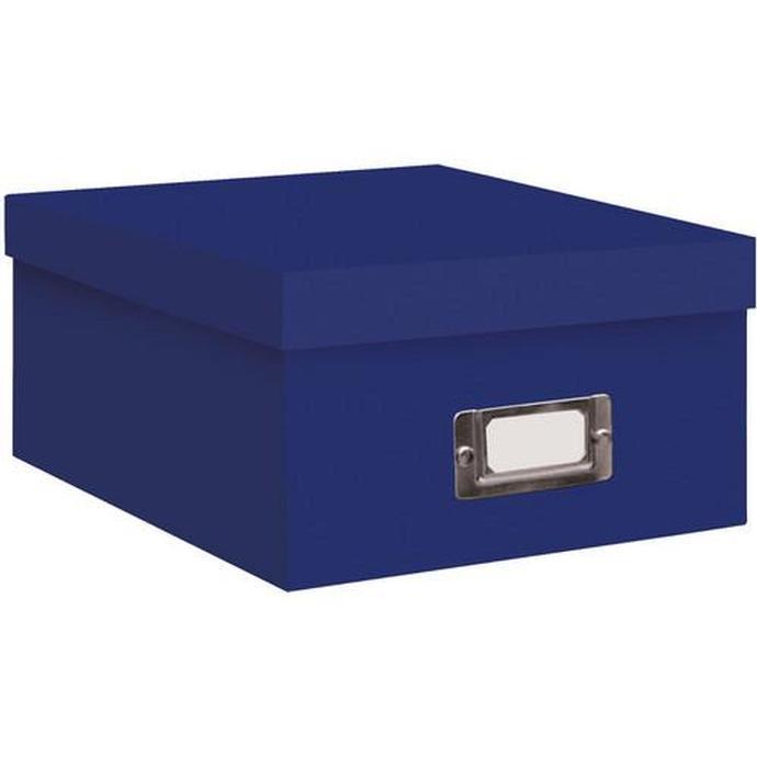 Pioneer Photo Albums 4x7 Photo Storage Box   Royal Blue