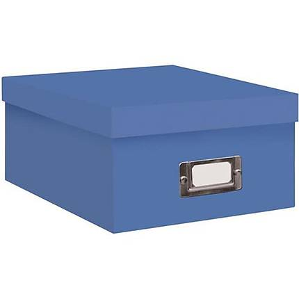 Pioneer Photo Albums 4x7 Photo Storage Box - Sky Blue