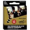 Pioneer Photo Albums Black Photo Corners (250 Photos)