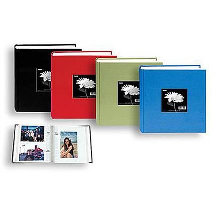 Pioneer 5x7 Cloth Frame Photo Album 200 Photos Red Albums