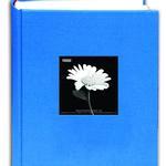 Pioneer 4 x 6 In. Fabric Frame Bi-Directional Photo Album (300 Photos)-Blue
