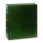 Pioneer Solid Cover Magnetic 3 Ring Photo Album (100 Photos) - Hunter Green