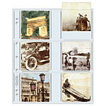 Print File 33-12P Archival Storage Page for 12 Prints (3.5 x 3.5, 25-Pack)
