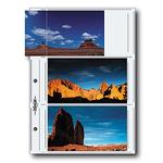 Printfile 4 x 7 in. APS  ( 6 per page) ( Pk 25 )  Archival G Print Pages