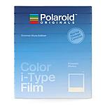 Polaroid Duochrome Blue  and  Black 600 Instant Film (8 Exposures)