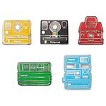 Polaroid Camera Pin Badge-Collectors Kit