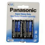 Panasonic Super Heavy Duty AA 4-Pack Batteries