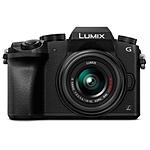 Panasonic LUMIX G7 Mirrorless Digital Camera with 14-42mm Lens Black