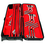 Matthews C-Stand Rolling Kit Bag + 20in+C Stand Kit + 2x 40in C+Stand Kit