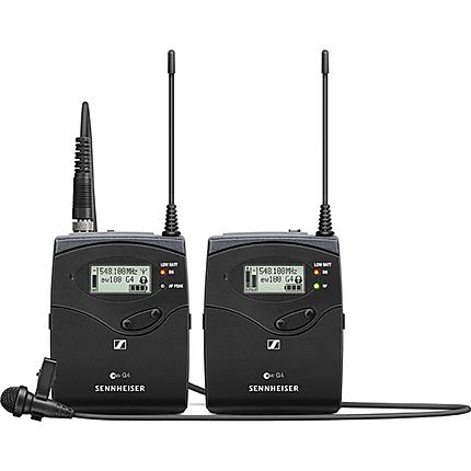 Sennheiser Camera Mount Wireless Microphone System with ME2 Lava (Black)