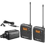Sennheiser Evolution G3 100 Series Wireless Microphone Combo (Black)