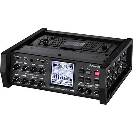 Roland R-88 8-Channel Recorder and Mixer (Black)