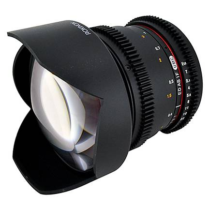 Rokinon 14mm T3.1 Cine Super Wide Angle Lens for Canon EF-Mount - Black