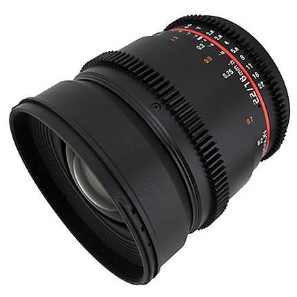 Rokinon 16mm T/2.2 Cine Wide Angle Lens for Sony E - Black
