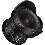 Rokinon 12mm T3.1 Full Frame Fisheye Cine DS  Lens for Nikon