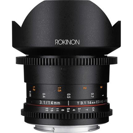 Rokinon 14mm T3.1 Cine DS Lens for Canon EF