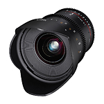 Rokinon 20mm T1.9 Wide Angle Cine DS Lens for Canon EF