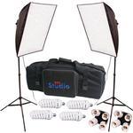 RPS Studio RS-4075 Dual Dleuxe Hyrid 20x20 Inch Folding Softbox Kit