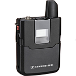 Sennheiser MZW400 Wind-Muff and XLR Adapter Kit for the MKE400 (Black)