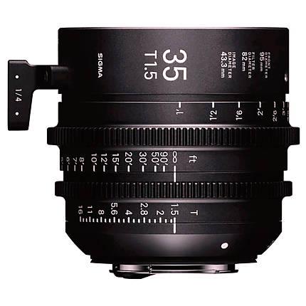 Sigma 35mm T1.5 FF High-Speed Prime Lens (Canon EF)