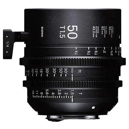 Sigma 50mm T1.5 FF High-Speed Prime Lens (Sony E)