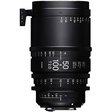 Sigma 18-35mm T2  and  50-100mm T2 Lenses with Case (Canon EF, Metric)