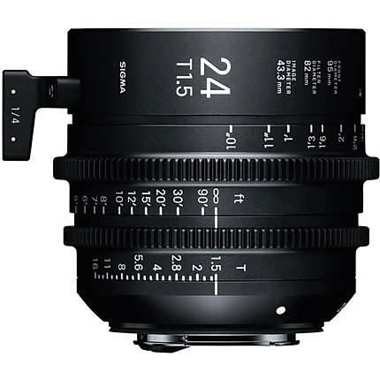Sigma 24mm T1.5 FF High-Speed Prime Lens (Sony E, Metric)