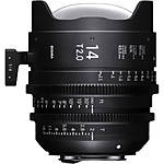 Sigma 14mm T2 Fully Luminous FF High-Speed Prime Lens (PL, Metric)