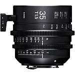 Sigma 35mm T1.5 Fully Luminous FF High-Speed Prime Lens (Canon EF, Metric)