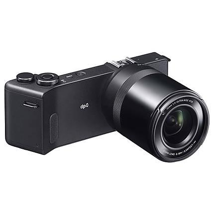 Sigma dp0 Quattro Digital Camera with LVF-01 LCD Viewfinder Kit