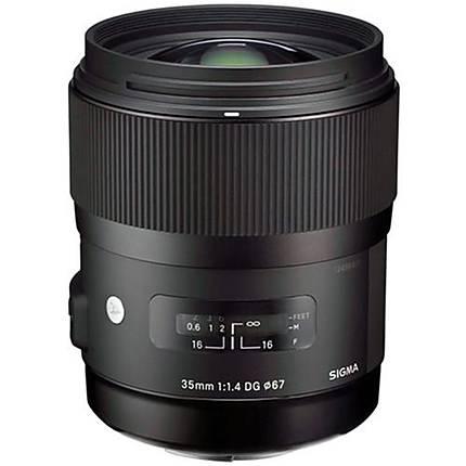 Sigma DG HSM ART 35mm f/1.4 Standard Lens for Pentax - Black