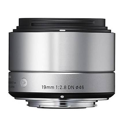 Sigma DN ART 19mm f/2.8 Wide Angle Lens for Micro Four Thirds - Silver