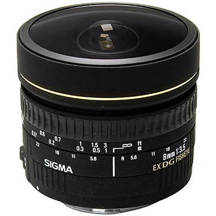 Sigma EX DG Circular 8mm f/3.5 Fisheye Lens for Nikon Mount - Black