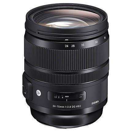 Sigma AF 24-70mm f/2.8 DG OS HSM Art Lens for Canon EF  ETA 1/8/18