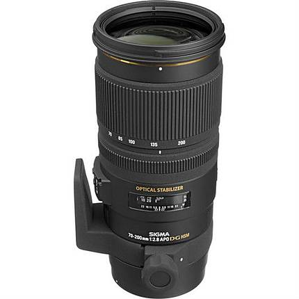Sigma APO EX DG OS HSM 70-200mm f/2.8 Telephoto Zoom Lens for Canon - Black
