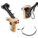 Shape Stop  and  Start Handle Grip with Telescopic Wood ARRI Rosette for RED Cam