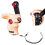 Shape Stop  and  Start Handle Grip with Wood ARRI Rosette for RED Camera