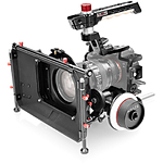 Shape Cage with Top Handle, 15mm BP, Follow Focus  and  Matte Box for Sony a7S I