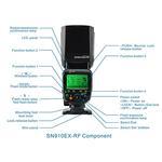 Shanny SN910 EX-RF TTL Radio Flash for Nikon Cameras
