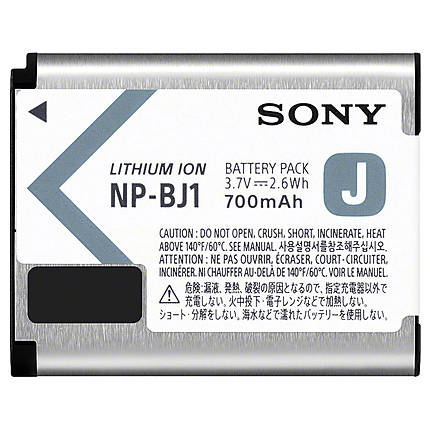 Sony NP-BJ1 Rechargeable Lithium-Ion Battery Pack (700mAh) for RX0