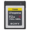 Sony 512GB CFexpress Type B TOUGH Memory Card
