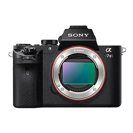 Sony Alpha a7II 24.3MP Mirrorless Camera (Body Only)-Black