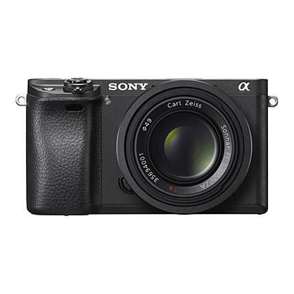 Sony Alpha a6300 Mirrorless Digital Camera with 16-50mm Lens - Black