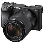 Sony a6300 Mirrorless Interchangeable-Lens Camera with 18-135mm Lens (Black)