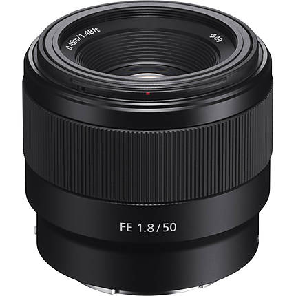 Sony FE 50mm f/1.8 Lens (Black)